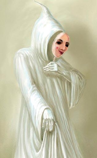 Белые одежды, праведность